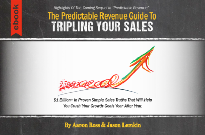 Ebook cover - triple your sales